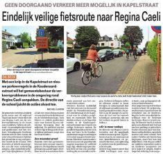 Veilige fietsroute naar RC