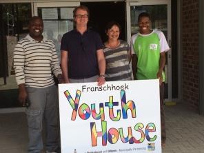 Op bezoek in Franschhoek, Zuid-Afrika