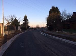 Bocht Bodegemstraat mer eerste asfaltlaag
