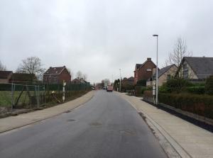 Een deel van de Rollestraat is al af inclusief de eerste nieuwe fietspaden sinds 10 jaar!