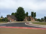 Nieuw kruispunt met nieuwe bushaltes, fietspaden en vernieuwd wegdek