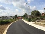 De as Oude Ninoofsebaan, Snikbergstraat, Molenbergstraat is nu volledig vernieuwd.