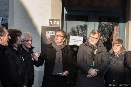 Officiële opening straten in Sint-Anna-Pede
