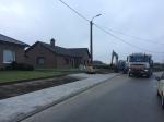 De Halleweg heeft nu brede voetpaden