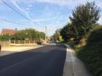 De Dilbeekse kant van een deel van de Scheestraat kreeg eveneens een nieuw wegdek