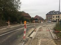 Kruispunt Gendarm in heraanleg