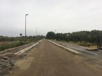 Ijsbergstraat tijdens heraanleg
