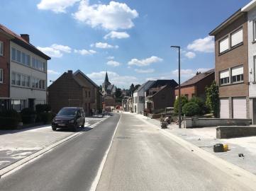 Spanjebergstraat op toplaag asfalt afgewerkt