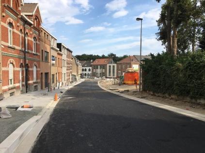 Onderlagen asfalt in Kasteelstraat klaar