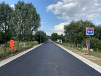 Lambrechtslaan na asfaltering