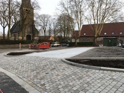 Aanleg parking Sint-Anna-Pede